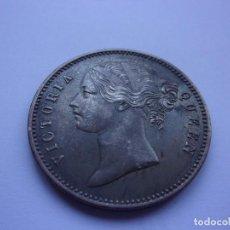"""Monedas antiguas de Asia: 76SCH16 INDIA BRITÁNICA 1 RUPIA DE PLATA 1840 """"WW RAISED"""". Lote 287802448"""