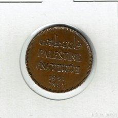 Monedas antiguas de Asia: PALESTINA 2 MILS 1942. Lote 288095313