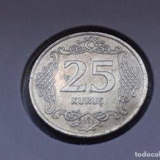 Monedas antiguas de Asia: TURQUIA/TURKIYE 25 KURUS 2017. Lote 288096583