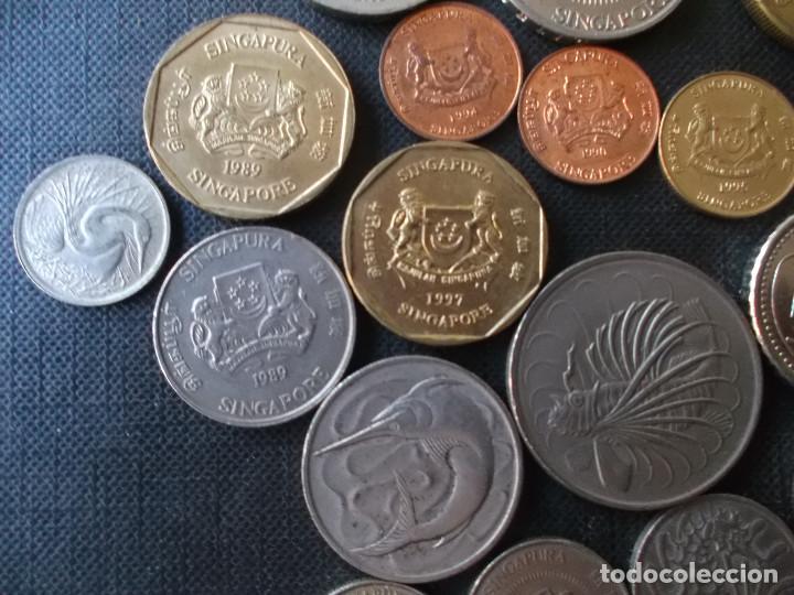 Monedas antiguas de Asia: coleccion de monedas de Singapour diversos años - Foto 4 - 288169928