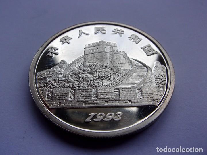 Monedas antiguas de Asia: 36SCK16 China 5 yuan de plata PROOF 1993 Guerreros de terracota - Foto 4 - 288224598