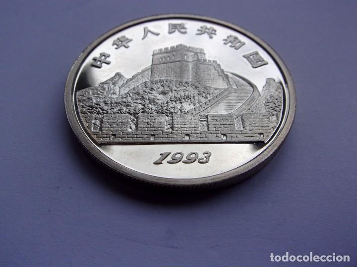 Monedas antiguas de Asia: 36SCK16 China 5 yuan de plata PROOF 1993 Guerreros de terracota - Foto 6 - 288224598
