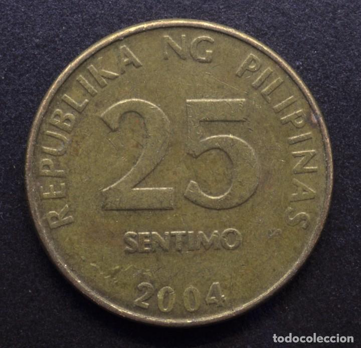 FILIPINAS, 25 CÉNTIMOS 2004 (Numismática - Extranjeras - Asia)