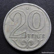 Monedas antiguas de Asia: KAZAJISTÁN, 20 TENGE 2000. Lote 288304693