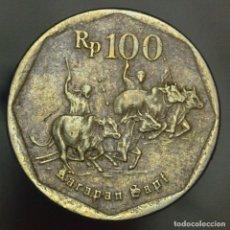 Monedas antiguas de Asia: 100 RUPIAH INDONESIA 1997. Lote 288601843