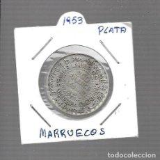 Monedas antiguas de Asia: MONEDA DE MOROCCO (MARRUECOS) 1372 HEGIRA 200 FRANCOS   WORLD COINS SILVER. Lote 288684348