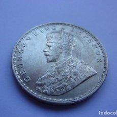 """Monedas antiguas de Asia: 85SCK16 INDIA BRITÁNICA 1 RUPIA DE PLATA 1911 C """"PIG"""" ELEPHANT. MUY RARA. Lote 288737553"""
