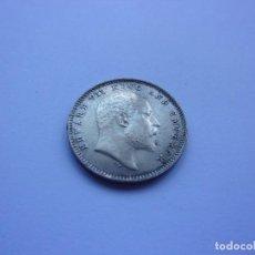 Monedas antiguas de Asia: 87SCK16 INDIA BRITÁNICA EDUARDO VII 2 ANNAS DE PLATA 1903. Lote 288739983