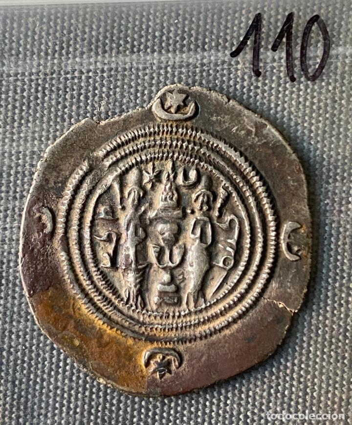Monedas antiguas de Asia: IMPERIO SASANIDA , DRACMA , SASANIAN KINGS , KHUSRO II , DRACHM, AÑOS 591-628 - Foto 2 - 289394683