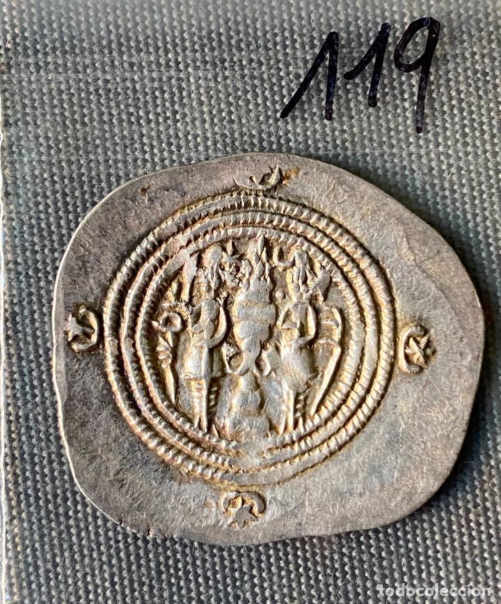 Monedas antiguas de Asia: IMPERIO SASANIDA , DRACMA , SASANIAN KINGS , KHUSRO I , DRACHM, - Foto 2 - 289395388
