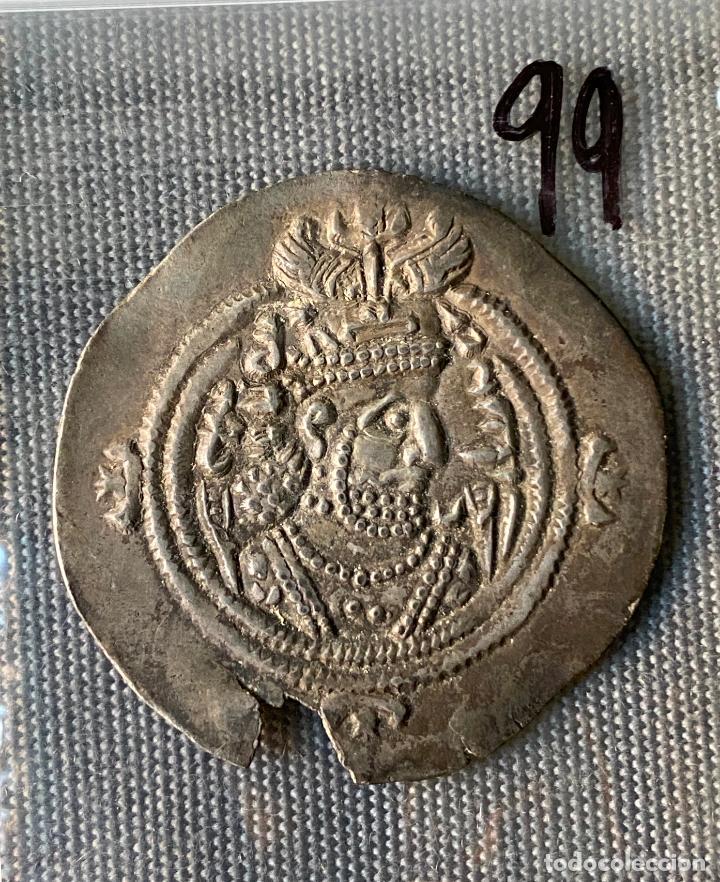 IMPERIO SASANIDA , DRACMA , SASANIAN KINGS , PLATA , DRACHM, (Numismática - Extranjeras - Asia)