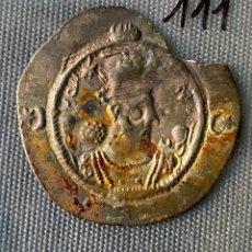 Monedas antiguas de Asia: IMPERIO SASANIDA , DRACMA , SASANIAN KINGS , PLATA , DRACHM,. Lote 289409603