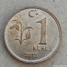 Monedas antiguas de Asia: TURQUÍA 1 KURUS 2013. Lote 290783863