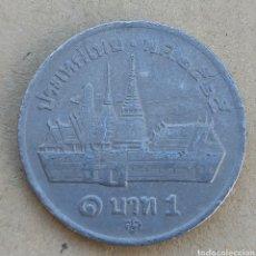 Monedas antiguas de Asia: TAILANDIA 1 BAHT. Lote 290989188