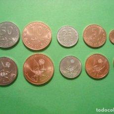 Monedas antiguas de Asia: SET QATAR 2016 (1,5,10,25 Y 50 FILS) SIN CIRCULAR / UNC. Lote 294085053