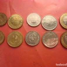 Monedas antiguas de Asia: SET BAHRAIN 2007-2011 (5,10,25,50 Y 100 FILS) SIN CIRCULAR / UNC. Lote 294086813
