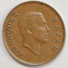 Monedas antiguas de Asia: SARAWAK (MALASIA), MONEDA DE 1 CENTAVO, AÑO 1937. Lote 294152223