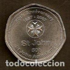 Monedas antiguas de Asia: PAPUA NUEVA GUINEA. CONMEMORATIVA 50 TOEA 2007. S/C.. Lote 295039288