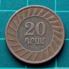 Monedas antiguas de Asia: ARMENIA 20 DRAM 2003. Lote 295335118