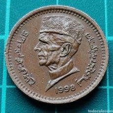 Monedas antiguas de Asia: PAKISTÁN 1 RUPIA 1998. Lote 295351168