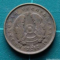 Monedas antiguas de Asia: KAZAJISTÁN 1 TENGE 2017. Lote 295351503