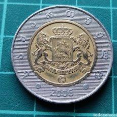 Monedas antiguas de Asia: GEORGIA 2 LARIS 2006 BIMETÁLICA. Lote 295351983