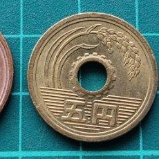 Monedas antiguas de Asia: JAPÓN LOTE 1 5 10 YEN. Lote 295511658