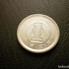 Monedas antiguas de Asia: JAPON ( AKIHITO ) 1 YEN AÑO 3 - 1991. Lote 295768538
