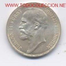 Monedas antiguas de Europa: LIECHTENSTEN- 2 CORONAS- 1915. Lote 8686996