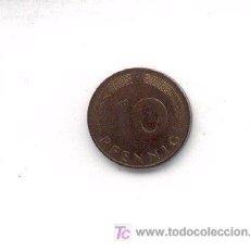 Monedas antiguas de Europa: 4-228. MONEDA ALEMANIA FEDERAL. 10 PFENNIG 1990. MBC. Lote 3187907