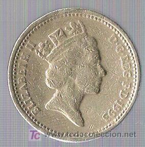 Moneda De One Pound Falsa Reino Unido Comprar Monedas Antiguas