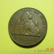 Monedas antiguas de Europa: 2405 BELGICA 2 CTMOS AÑO 1863 - MAS MONEDAS EN MI TIENDA COSAS&CURIOSAS. Lote 5974441