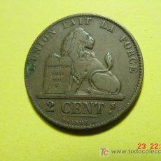 Monedas antiguas de Europa: 2407 BELGICA 2 CTMOS AÑO 1863 - MAS MONEDAS EN MI TIENDA COSAS&CURIOSAS. Lote 5974445