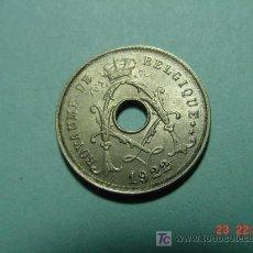 Monedas antiguas de Europa: 2408 BELGICA 5 CTMOS AÑO 1922 SC - MAS MONEDAS EN MI TIENDA COSAS&CURIOSAS. Lote 5974450