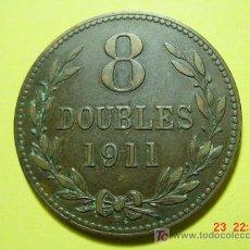 Monedas antiguas de Europa: 2438 GUERNESEY GRAN BRETAÑA - 8 DOUBLES - AÑO 1911 H - MAS EN MI TIENDA COSAS&CURIOSAS. Lote 6020284