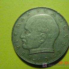 Monedas antiguas de Europa: 2448 ALEMANIA 2 MARCOS MAX PLANCK AÑO 1957 J - MAS EN MI TIENDA COSAS&CURIOSAS. Lote 6020345