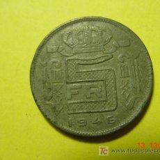 Monedas antiguas de Europa: 3084 BELGICA 5 FRANCOS AÑO 1946 - MIRA MAS MONEDAS EN MI TIENDA COSAS&CURIOSAS. Lote 6146452
