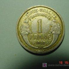 Monedas antiguas de Europa: 3231 FRANCIA 1 FRANCO AÑO 1947 B - MIRA MAS MONEDAS DE ESTE PAIS EN MI TIENDA COSAS&CURIOSAS. Lote 6164284