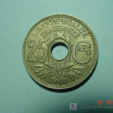 Monedas antiguas de Europa: 3240 FRANCIA 25 CTMOS AÑO 1918 - MIRA MAS MONEDAS DE ESTE PAIS EN MI TIENDA COSAS&CURIOSAS. Lote 6164330