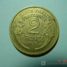 Monedas antiguas de Europa: 3244 FRANCIA 2 FRANCOS AÑO 1938 - MIRA MAS MONEDAS DE ESTE PAIS EN MI TIENDA COSAS&CURIOSAS. Lote 6164339