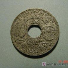 Monedas antiguas de Europa: 3260 FRANCIA 10 CTMES AÑO 1941 - MAS MONEDAS DE ESTE PAIS EN COSAS&CURIOSAS. Lote 6189967