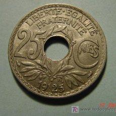 Monedas antiguas de Europa: 3266 FRANCIA 25 CTMES AÑO 1925 - MAS MONEDAS DE ESTE PAIS EN COSAS&CURIOSAS. Lote 6190157
