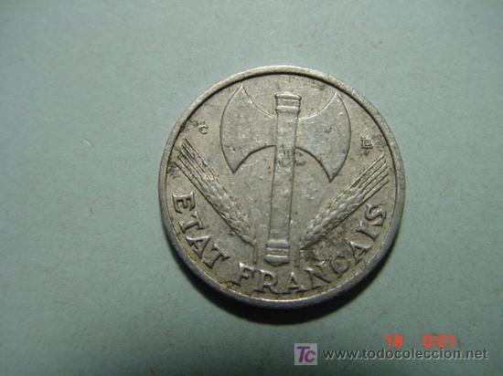 3270 FRANCIA 50 CTMES AÑO 1944 C - MAS MONEDAS DE ESTE PAIS EN COSAS&CURIOSAS (Numismática - Extranjeras - Europa)