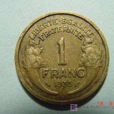 Monedas antiguas de Europa: 3281 FRANCIA FRANCE 1 FRANCO AÑO 1933 - MAS MONEDAS DE FRANCIA EN MI TIENDA COSAS&CURIOSAS. Lote 6197920