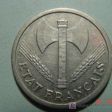 Monedas antiguas de Europa: 3292 FRANCIA FRANCE 2 FRANCOS AÑO 1944 - MAS MONEDAS DE FRANCIA EN MI TIENDA COSAS&CURIOSAS. Lote 6198319