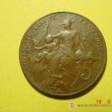 Monedas antiguas de Europa: 3300 FRANCIA FRANCE 5 CTMES AÑO 1914 - MAS MONEDAS DE FRANCIA EN MI TIENDA COSAS&CURIOSAS. Lote 6199125