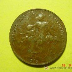 Monedas antiguas de Europa: 3307 FRANCIA FRANCE 5 CTMES AÑO 1916* - MAS MONEDAS DE FRANCIA EN MI TIENDA COSAS&CURIOSAS. Lote 6199219