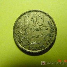 Monedas antiguas de Europa: 3325 FRANCIA FRANCE 10 FRANCOS AÑO 1958 -MAS MONEDAS DE FRANCIA EN MI TIENDA COSAS&CURIOSAS. Lote 6204951