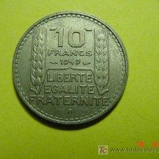 Monedas antiguas de Europa: 3340 FRANCIA FRANCE 10 FRANCOS AÑO 1949 B -MAS MONEDAS DE FRANCIA EN MI TIENDA COSAS&CURIOSAS. Lote 6205364