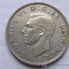 Monedas antiguas de Europa: REINO UNIDO. MEDIA CORONA.1940.PLATA. Lote 6223766
